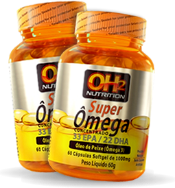 ÔMEGA SUPER 1000MG CONCENTRADO - 33EPA / 22DHA