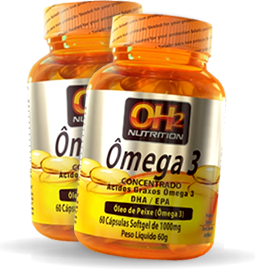 ÔMEGA 3 1000MG CONCENTRADO